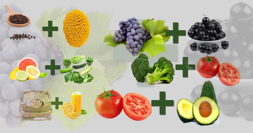 Combinações de alimentos para melhorar sua saúde