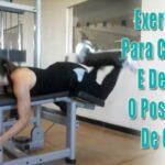 Exercício para crescer e definir o posterior de coxa