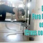 Exercício para enrijecer os glúteos - cros no banco
