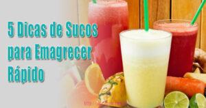 5 Dicas de Sucos para Queimar Gordura