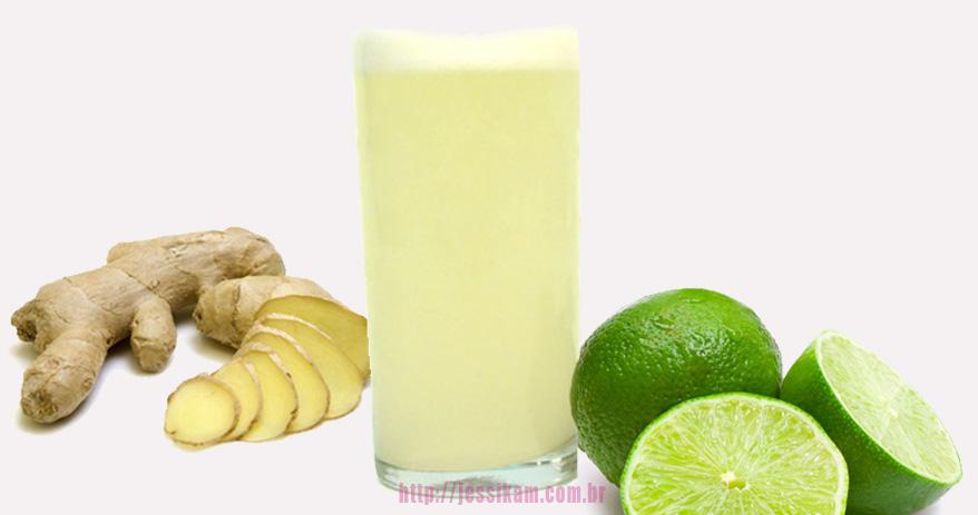 5 Dicas de Sucos para emagrecer rapido [Limão com Gengibre]